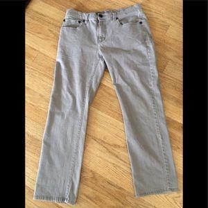 RSQ New York Gray Slim Straight Jeans 32W 30L
